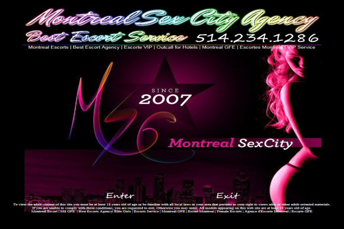 Montreal Sex City - Montreal Sex City