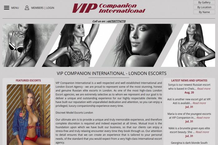VIP Companions - VIP Companions
