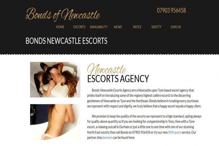 Bonds of Newcastle Escorts - Bonds of Newcastle Escorts