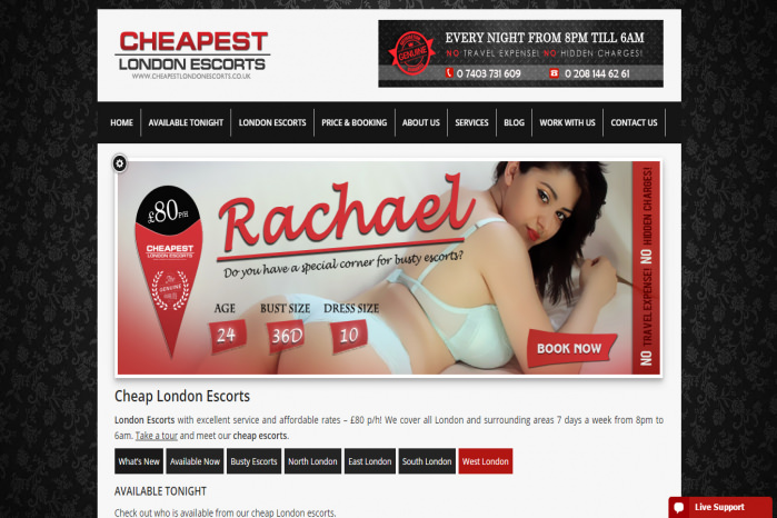 Cheapest London Escorts - Cheapest London Escorts