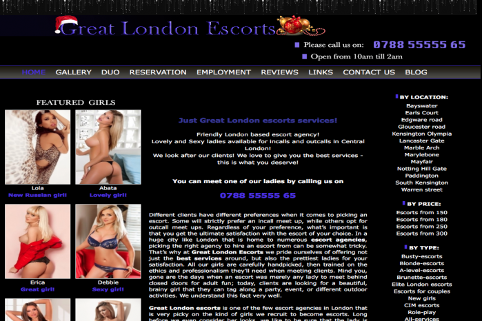 Great London Escorts - Great London Escorts
