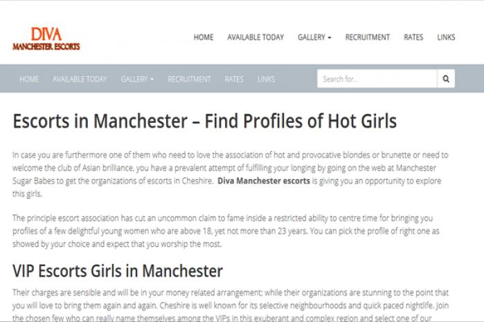Diva Manchester Escorts - Diva Manchester Escorts
