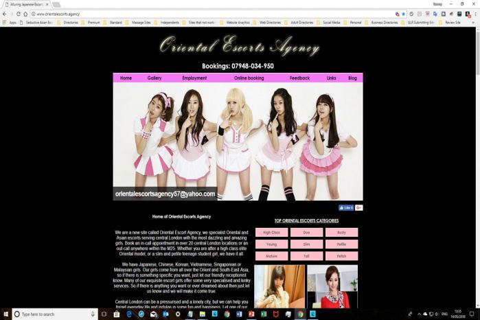 Oriental Escorts Agency - Oriental Escorts Agency