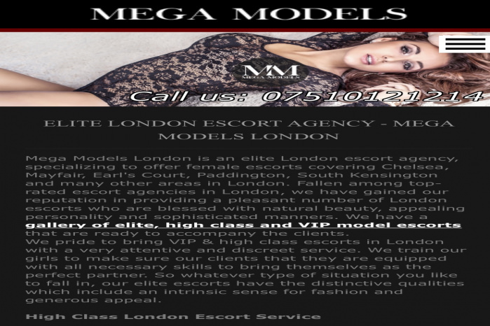 Mega Models London - Mega Models London