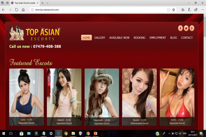 Top Asian Escorts - Top Asian Escorts