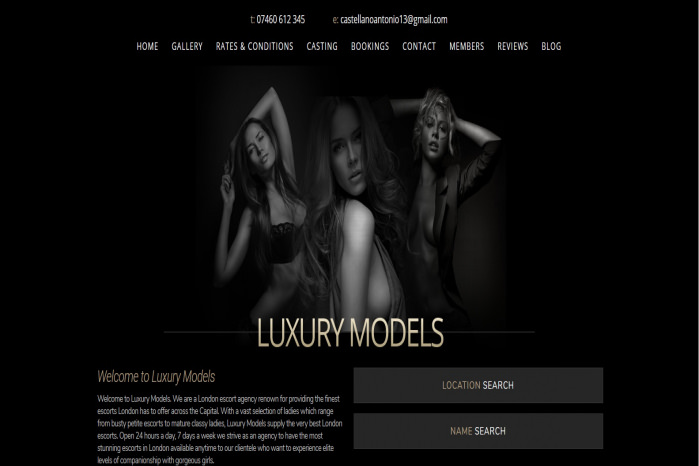 Luxury Models - Luxury Models