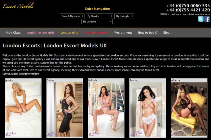 London Escort Models - London Escort Models