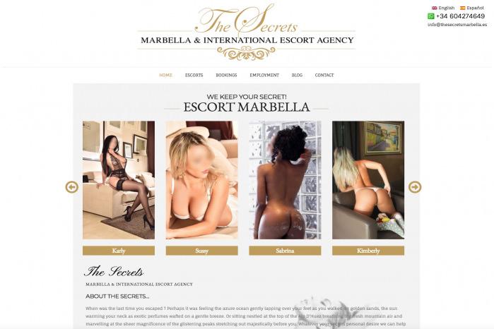 Escort Marbella - The Secrets - Escort Marbella - The Secrets