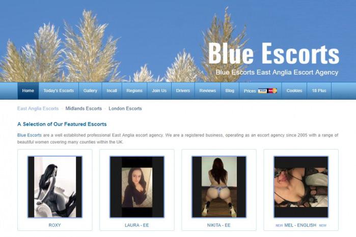 Blue Escorts - Blue Escorts