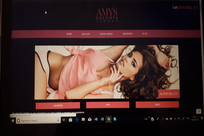 Amys Escorts of London - Amy's Escorts of London