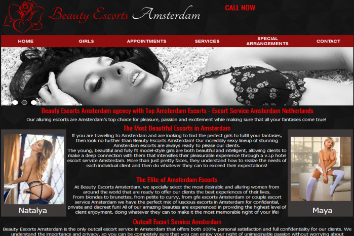 Beauty Escorts Amsterdam - Beauty Escorts Amsterdam