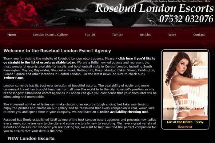 Rosebud London Escorts - Rosebud London Escorts