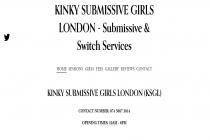 Kinky Submissive Girls London