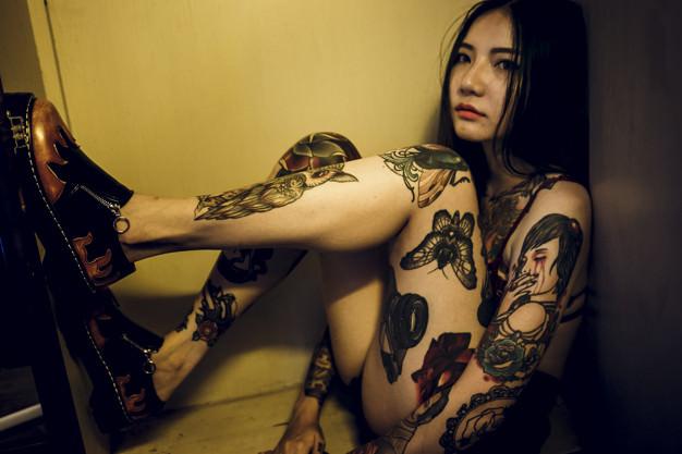Asia Tattooed escorts London