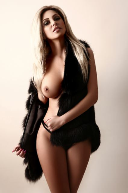 Elite blonde escort Anka at Haute Girls London