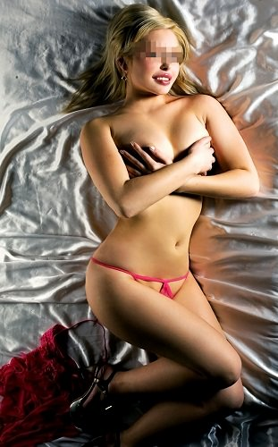 Young sexy blonde
