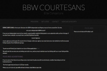 BBW Courtesans Listings
