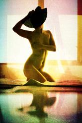 Fiona Lutalica - Nude selfie