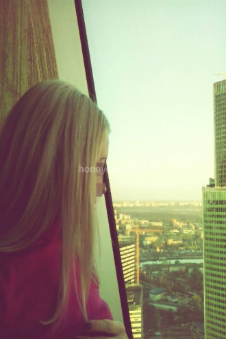 Honey Olga - I am in the Moscow city tower