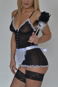 Naughty Nicole - French maid