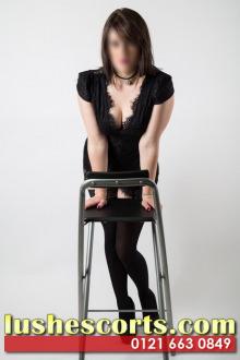 Imogen - Birmingham escort - Imogen busty British brunette