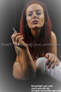Lara Lovitt - Blowing Smoke in your face