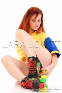 Lara Lovitt - retro rollerskates 2