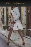Jolie Deville - in jacket