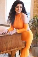 Brunajulia - Orange Dress