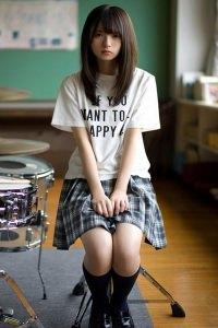 Kazashi Shy girl