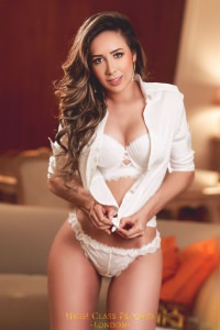 High Class London - Micaela - Micaela one of our curvy high class london escorts