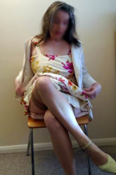 Velvet Venus - Sexy sundress with stockings