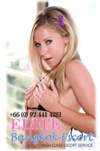 Britney - Stylish Bangkok Western Blonde Escort