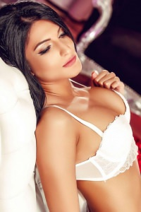Amina - Amina, brunette London escort