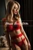 Yvonne in red dress - Yvonne - UK
