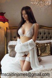 Caitlin James - Ivory lingerie