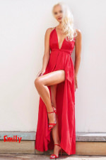 Social date & our time - red dress event - Emily - Katowice
