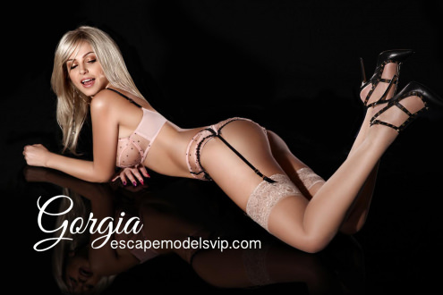 Gorgia - London escort - High Class Luxury Top Model Gorgia